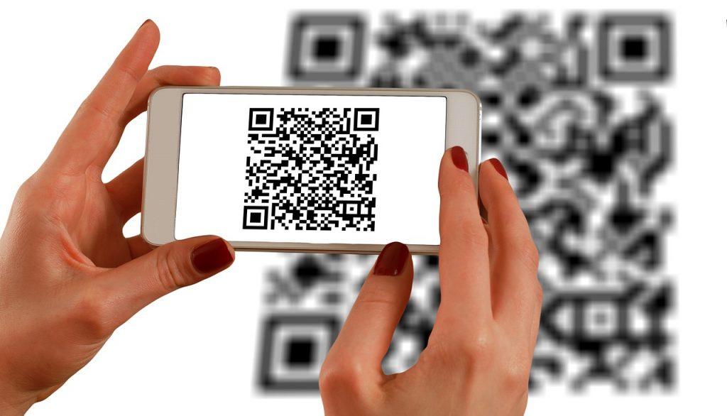 QR-Code per Smartphone scannen