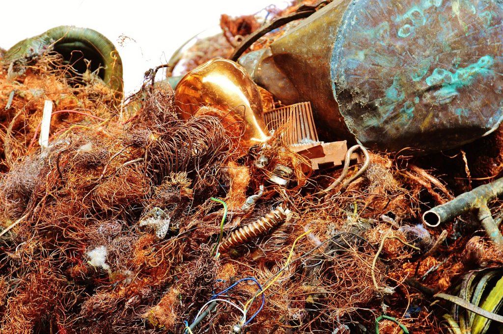 Recycling, um Müll zu vermeiden