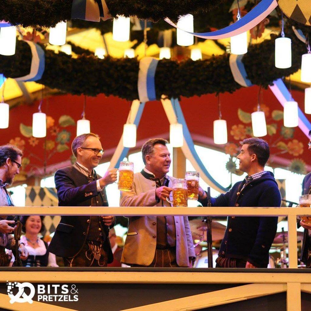 Agile Event-Marketing: Bits & Pretzels Netzwerken auf dem Oktoberfest